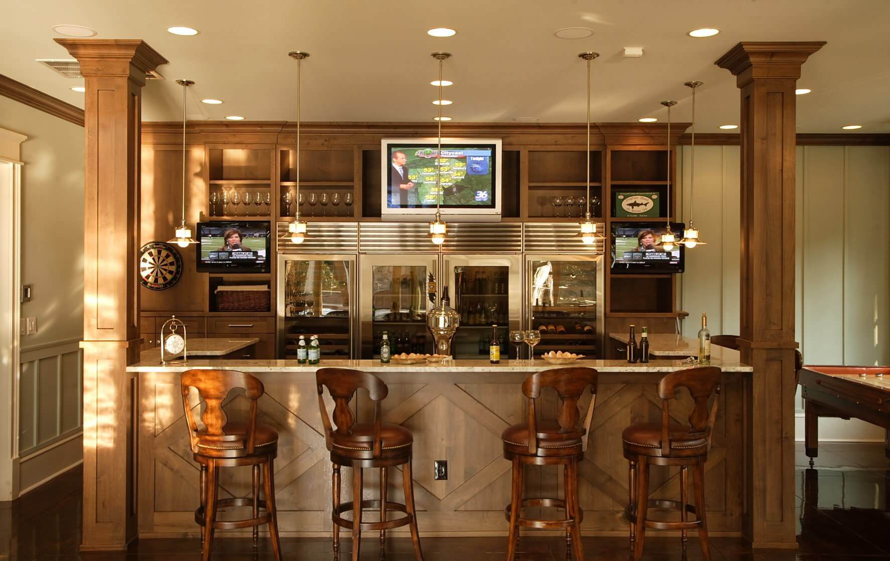 small basement bar ideas on a budget