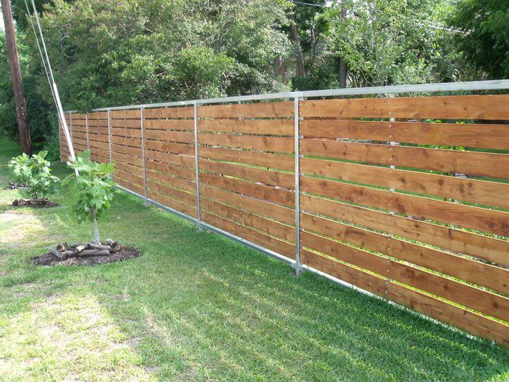 cheap easy fence ideas