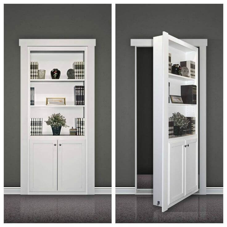 unique closet door ideas