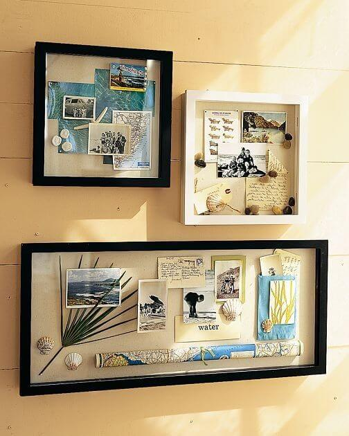 Beach Theme Home Decor Shadow Box Beach Gift: Shadow Box Ideas To Keep Your Memories And How To Make It