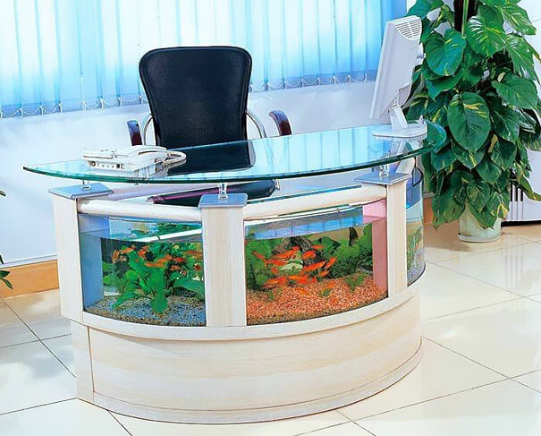 Aquarium Desk furniture