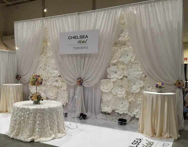 backdrop wedding design