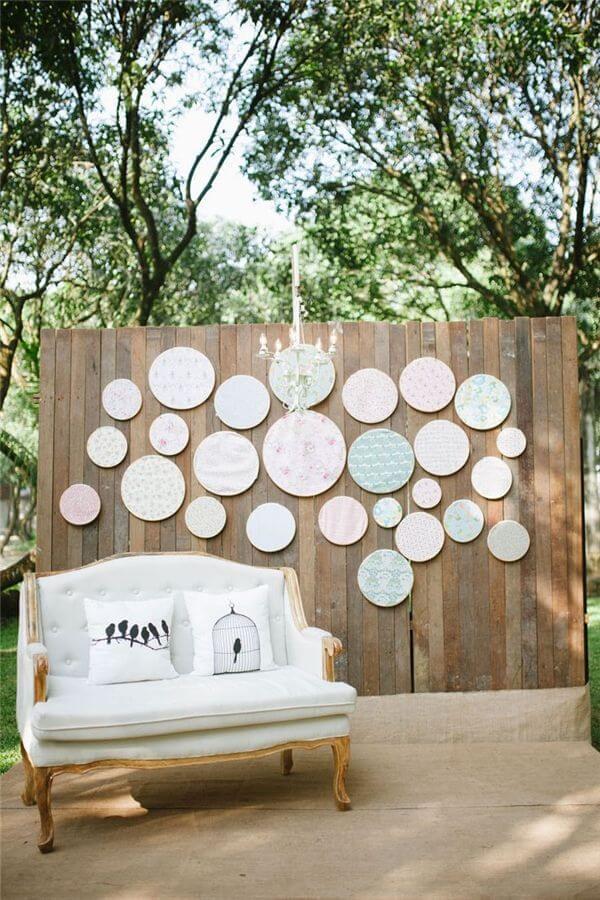 how to make a wedding backdrop