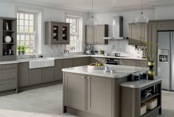 Grey kitchens interior best designs