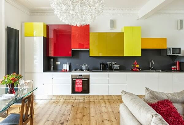 Bright and Modern kitchen cabinets