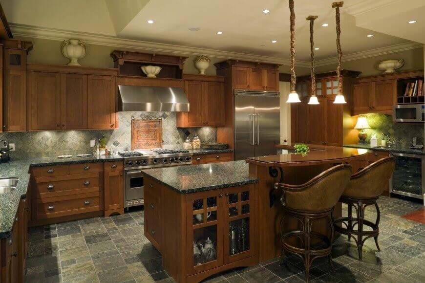 Fresh Take on Cabin Style kitchen