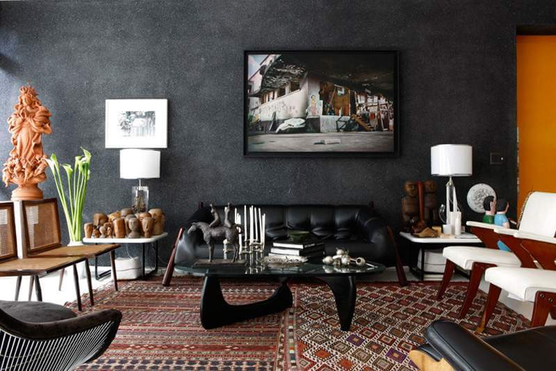 black-wallpaper-for-home-interior-ideas