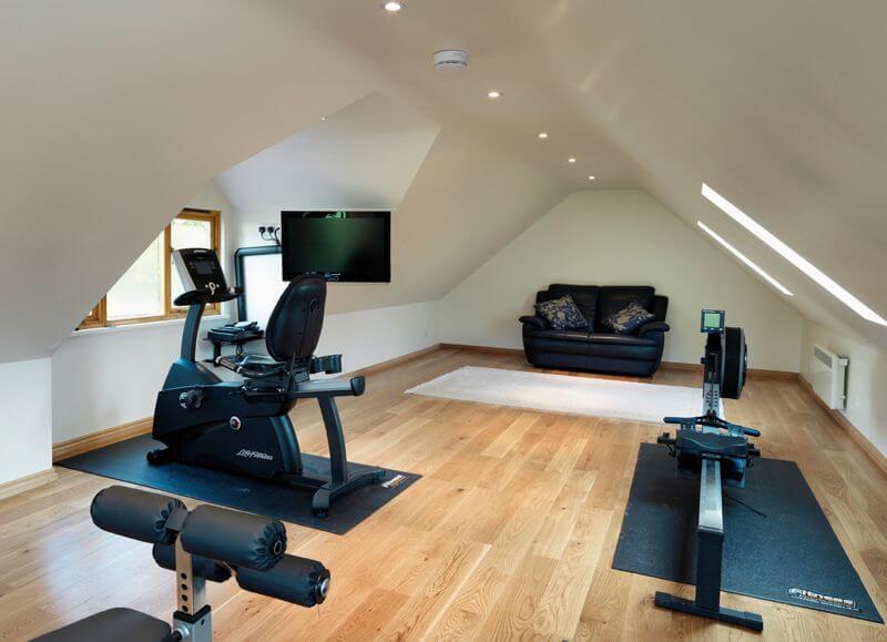 The Home Gym Room