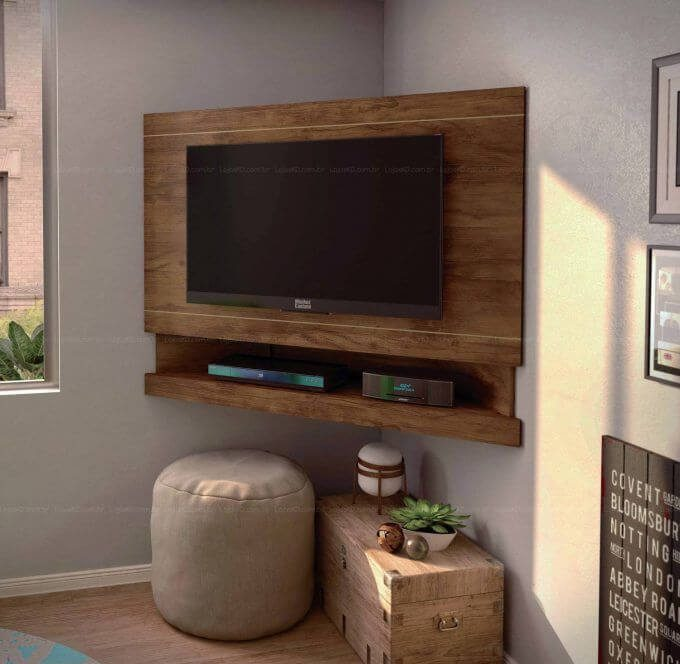 tv wall mount In Corner Decorative