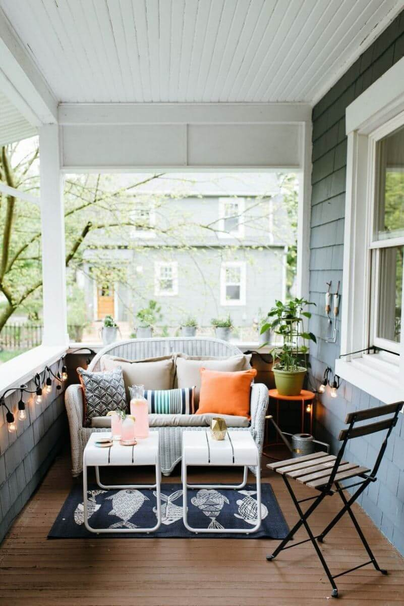 Porches Work, Too sun room